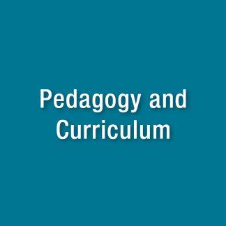 Pedagogy and curriculum