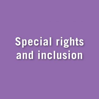 Special rights and inclusion